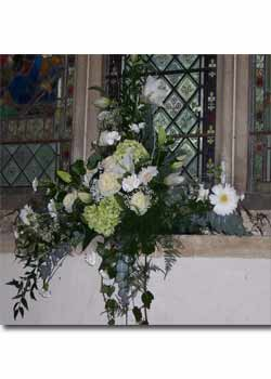 Wedding Church on Maureens Florist